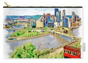 Pittsburgh Aerial View Carry-all Pouch