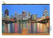Pittsburgh At Waters Edge Carry-all Pouch