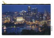 Pittsburgh Blue Hour Panoramic Carry-all Pouch