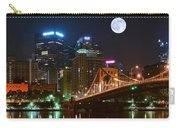 Pittsburgh Full Moon Panoramic Carry-all Pouch