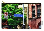 Pittsburgh Pa - Liberty Ave And Smithfield Street Carry-all Pouch