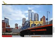 Pittsburgh Pa - Train By Smithfield St Bridge Carry-all Pouch