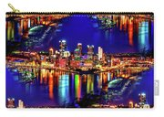 Pittsburgh Skyline Art Carry-all Pouch