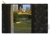Pittsburgh Skyline, North Shore Arch, Pittsburgh, Pa  Carry-all Pouch