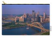 Pittsburgh,pennsylvania Skyline Carry-all Pouch