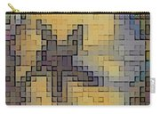 Pixel Pansy Carry-all Pouch