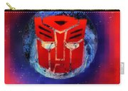 Pixeled Autobot Carry-all Pouch