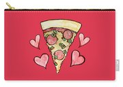 Pizza Lovers Valentine Carry-all Pouch