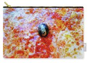 Pizza Pie With Olive Carry-all Pouch