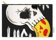 Pizza Skull Carry-all Pouch