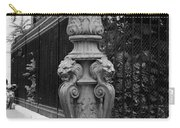 Place Charles De Gaulle - Black And White Carry-all Pouch