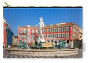 Place Massena Of Nice In France Carry-all Pouch
