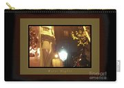 Place St Michel To Rue Saint-andre Des Arts Greeting Card And Poster Carry-all Pouch