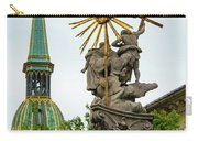 Plague Column And Saint Martin Cathedral Carry-all Pouch
