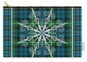 Plaid Snowflakes-jp3704 Carry-all Pouch