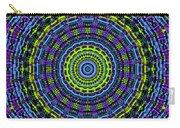 Plaid Wheel Mandala Carry-all Pouch