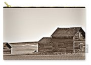 Plains Homestead Sepia Carry-all Pouch
