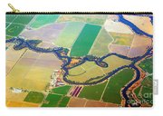 Planet Art Colorful  Midwest Aerial Carry-all Pouch