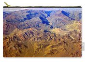 Planet Art Death Valley Mountain Aerial Carry-all Pouch