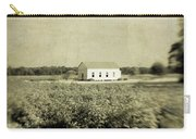 Plantation Church - Sepia Texture Carry-all Pouch