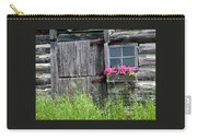 Planter On Log Barn Carry-all Pouch