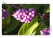 Planting Fields Purple Carry-all Pouch