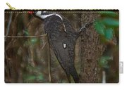 Plastic Wrapped Pileated Woodpecker Carry-all Pouch