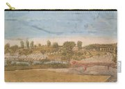 Plate IIi The Engagement At The North Bridge In Concord 1775 Carry-all Pouch