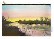 Platte River Sunrise Carry-all Pouch