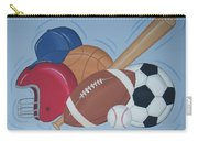 Play Ball Carry-all Pouch by Valerie Carpenter