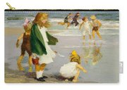 Play In The Surf Carry-all Pouch by Edward Henry Potthast