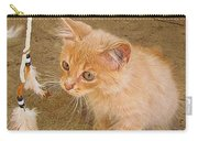Play Time With Kitty Carry-all Pouch