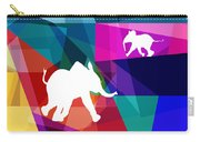 Playful Baby Elephant Carry-all Pouch