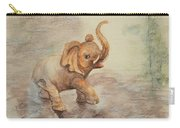 Playful Elephant Baby Carry-all Pouch