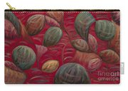 Playful In Red Carry-all Pouch