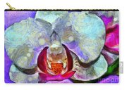 Playful Orchid Carry-all Pouch