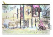 Playground Equipment Sketch Carry-all Pouch