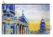 Playhouse And French Dome Carry-all Pouch