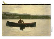 Playing A Fish Carry-all Pouch by Winslow Homer