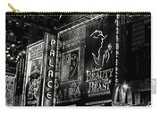 Playing At The Palace B / W Carry-all Pouch
