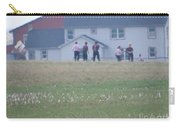 Playing Ball With Friends Carry-all Pouch