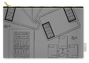 Playing Cards Patent 1889 Carry-all Pouch