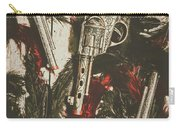 Playing Cowboys And Indians Carry-all Pouch
