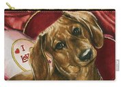Please Be Mine Carry-all Pouch by Barbara Keith