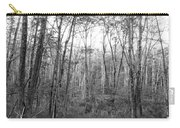 Pleasure Of Pathless Woods Bw Carry-all Pouch
