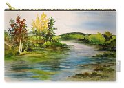 Plein Air At Grand Beach Lagoon Carry-all Pouch
