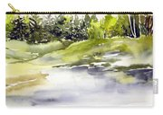 Plein Air At The Pond At Nutimik  Carry-all Pouch