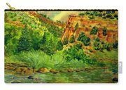 Plein  Air Of Eagle River Carry-all Pouch