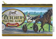 Pletchers Racing Mural Shipshewana Carry-all Pouch