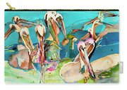 Plethora Of Pelicans Carry-all Pouch